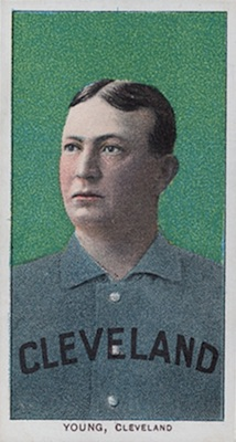 1909-11 T206 White Borders Baseball Cy Young