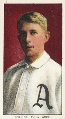 1909-11 T206 White Borders Baseball Eddie Collins