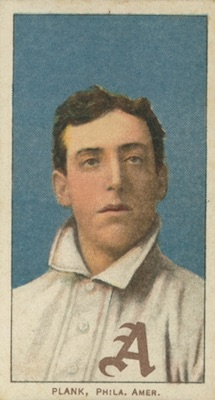 1909-11 T206 White Borders Baseball Eddie Plank