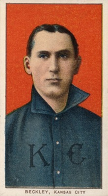 1909-11 T206 White Borders Baseball Jake Beckley