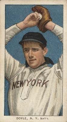 1909-11 T206 White Borders Baseball Joe Doyle