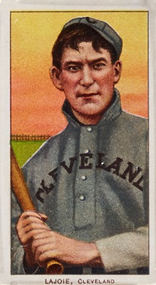 1909-11 T206 White Borders Baseball Nap Lajoie