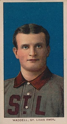 1909-11 T206 White Borders Baseball Rube Waddell