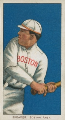 1909-11 T206 White Borders Baseball Tris Speaker