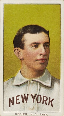 1909-11 T206 White Borders Baseball Willie Keeler