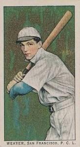 1909 1911 T212 Obak Buck Weaver