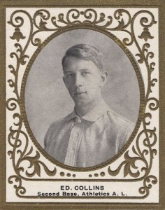 1909 T204 Ramly Baseball Eddie Collins