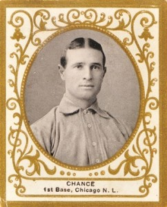 1909 T204 Ramly Baseball Frank Chance
