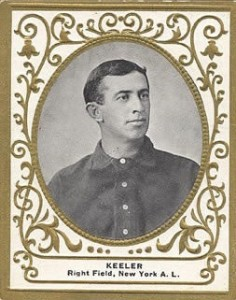 1909 T204 Ramly Baseball Willie Keeler