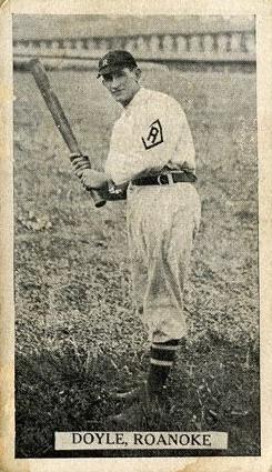1910 T209 Contentnea Photo Series Baseball Doyle