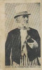 1910 T209 Contentnea Photo Series Baseball Thompson