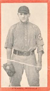 1910 T210 Old Mill Baseball Casey Stengel