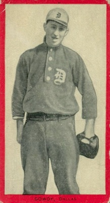 1910 T210 Old Mill Baseball Hank Gowdy