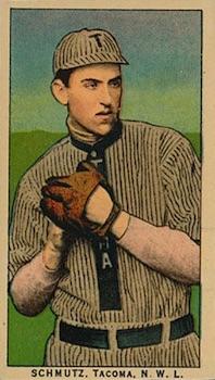1910 T212 Obak Baseball Schmutz front