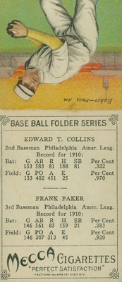 1911 T201 Mecca Double Folders Baseball Cards 26
