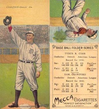 1911 T201 Mecca Double Folders Baseball Cards 1