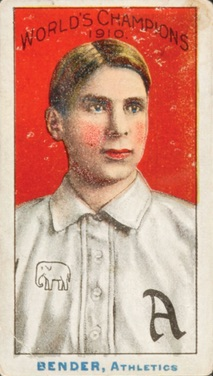 1911 T208 Fireside Baseball Chief Bender