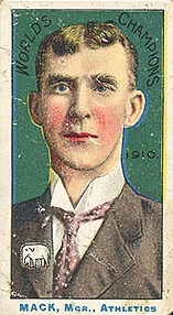1911 T208 Fireside Baseball Connie Mack