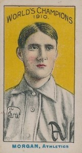 1911 T208 Fireside Baseball Cards 3