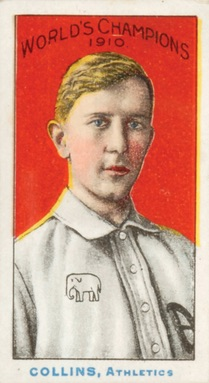 1911 T208 Fireside Baseball Eddie Collins