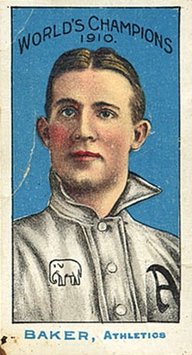 1911 T208 Fireside Baseball Home Run Baker