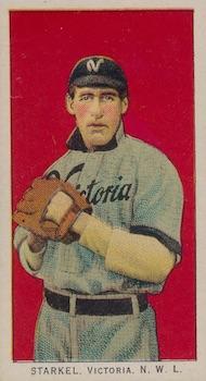 1911 T212 Obak Baseball Starkel front