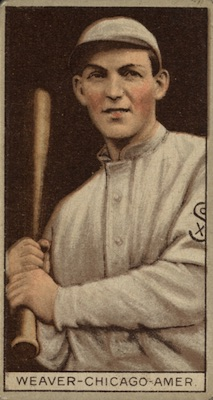 1912 T207 Baseball Buck Weaver