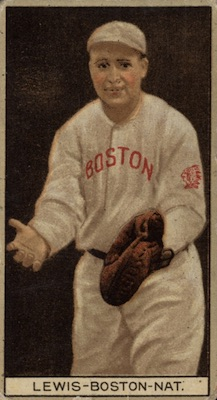 1912 T207 Baseball Irving Lewis Emblem