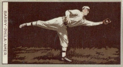1912 T207 Baseball Jack Barry