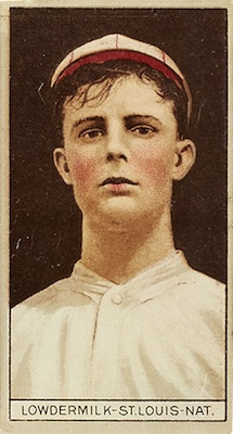 1912 T207 Baseball Louis Lowdermilk