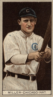 1912 T207 Baseball Ward Miller
