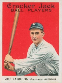 1915 Cracker Jack Baseball Joe Jackson