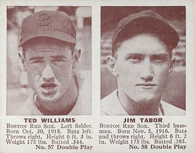 1941 Double Play Ted Williams