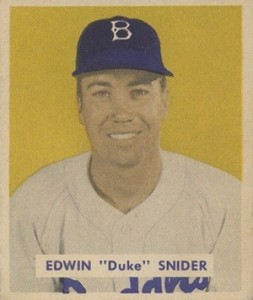 Top 10 Duke Snider Baseball Cards 11