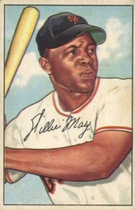 1952 Bowman Willie Mays
