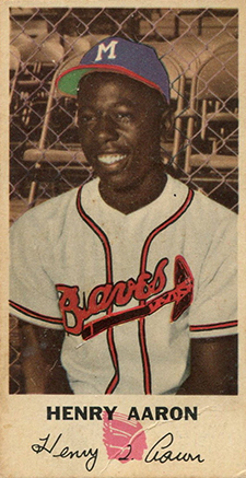 1954 Johnston Cookies Hank Aaron
