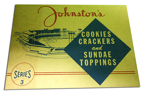 1955 Johnston Cookies Baseball Cards 3