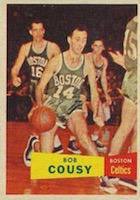 Bob Cousy Rookie Cards Guide and Checklist