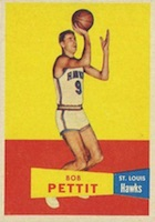 Bob Pettit Rookie Cards Guide and Checklist