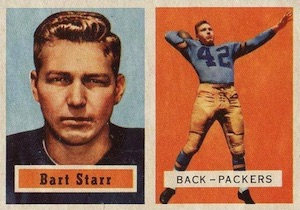 Top 10 Bart Starr Cards of All-Time 1
