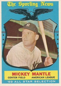 Mickey Mantle Topps Cards - 1952 to 1969 11