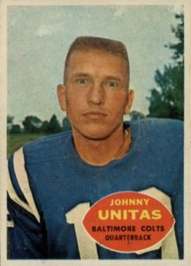 Here's Johnny! Top 10 Johnny Unitas Football Cards 4