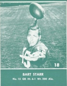 1961 Lake to Lake Packers Bart Starr #18