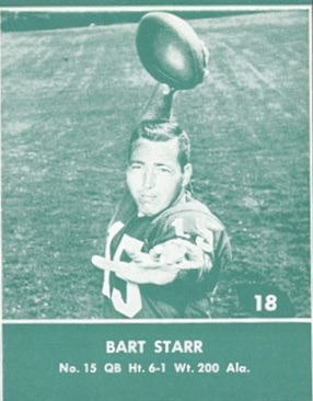 Celebrate the Packers Legend with the Top 10 Bart Starr Cards 5