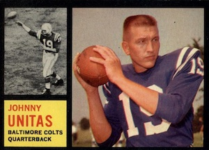 Here's Johnny! Top 10 Johnny Unitas Football Cards 5