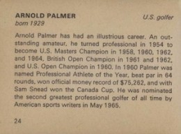 Top Arnold Palmer Golf Cards 4