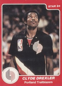 1983-84 Star Company Basketball Clyde Drexler