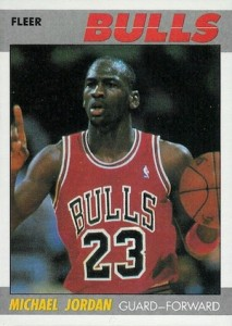 1987-88 Fleer Basketball Base Michael Jordan