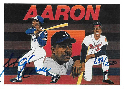 Hammertime! Top 10 Hank Aaron Cards 1