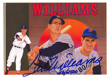 1992 Upper Deck Ted Williams Autograph
